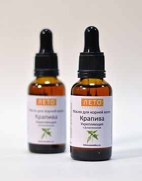 Hair care Nettle oil for hair roots