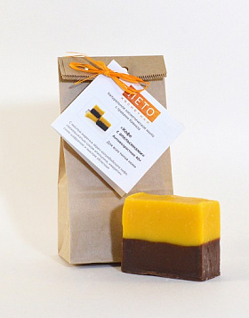 "For face Soap ""Coffee with Oranges"""