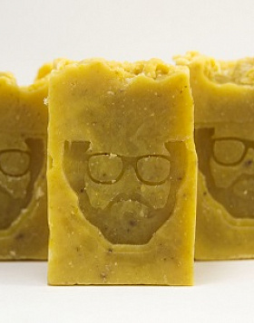 For face 2 in 1 Beard Soap and Shampoo